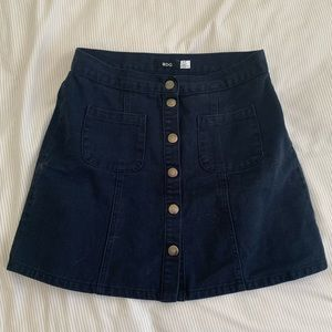BDG Button up skirt S